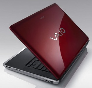 Sony Vaio CR Blazing Red