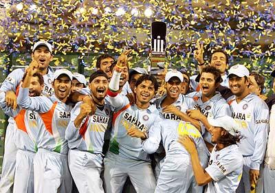 Jubilant Indian Team