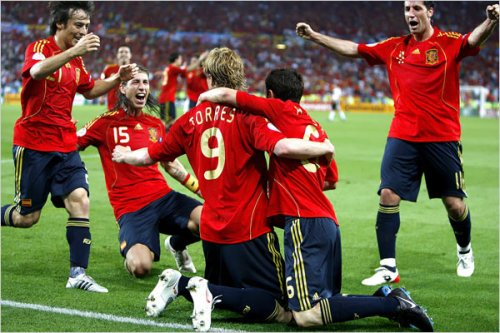 spain euro2008 torres Ole Ole! Spaniards Wins Euro Cup 2008