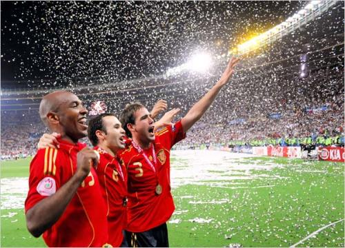spain euro2008 Ole Ole! Spaniards Wins Euro Cup 2008