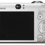 Canon IXY Digital 25 IS (Back)