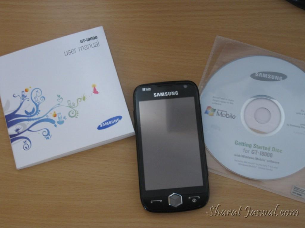 Samsung Omnia II (Unpacked)