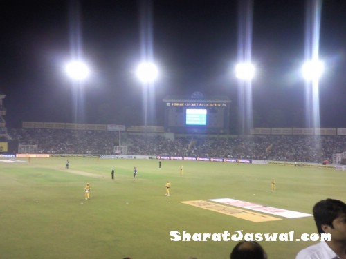 AusIndCricketSNC00050 India Vs. Australia 4th ODI At Mohali