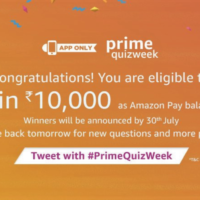 Amazon Prime QuizWeek