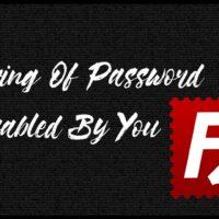 Enabling Saving Of Password FileZilla