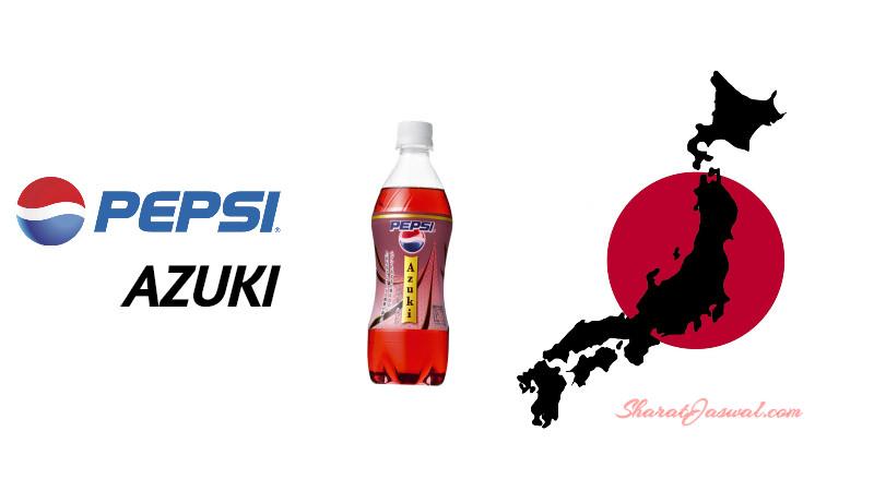Pepsi Azuki Japan