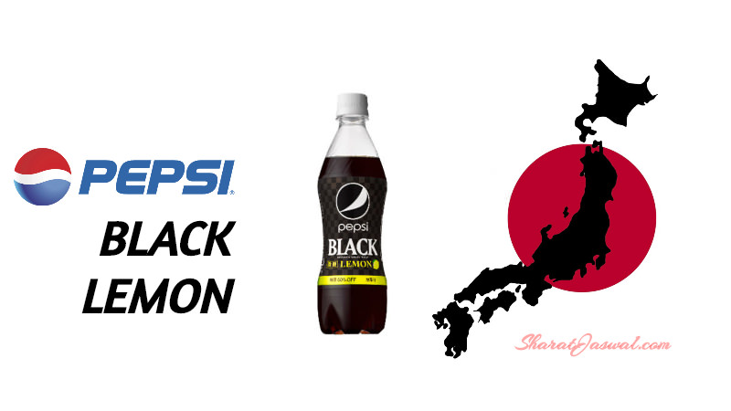 Pepsi Black Lemon Japan