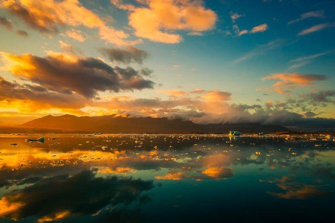 Lake, Iceland