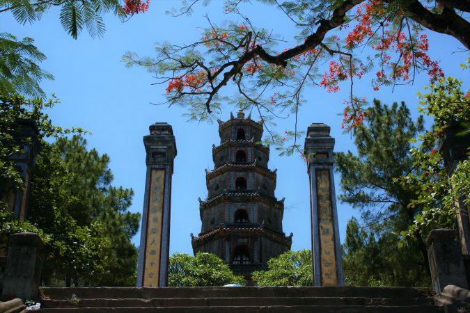 Pagoda, Vietnam