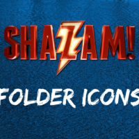 Shazam! Movie Folder Icons