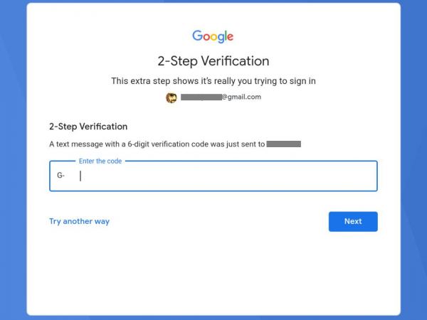 Bluestacks error 2 Step Verification