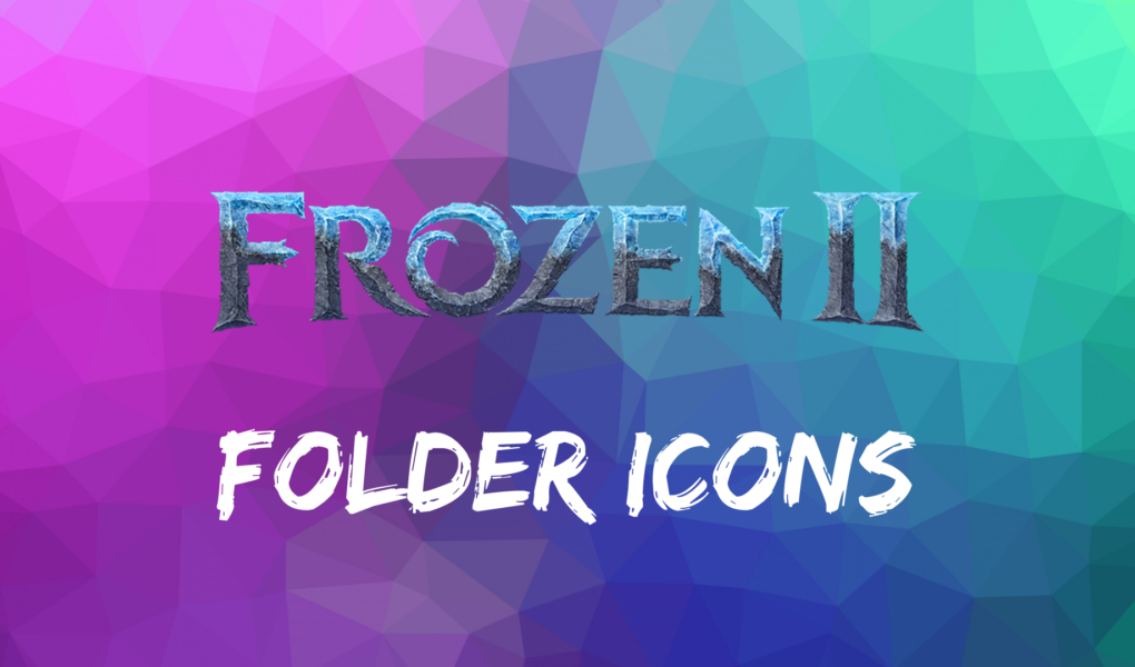 Frozen 2 Folder Icons