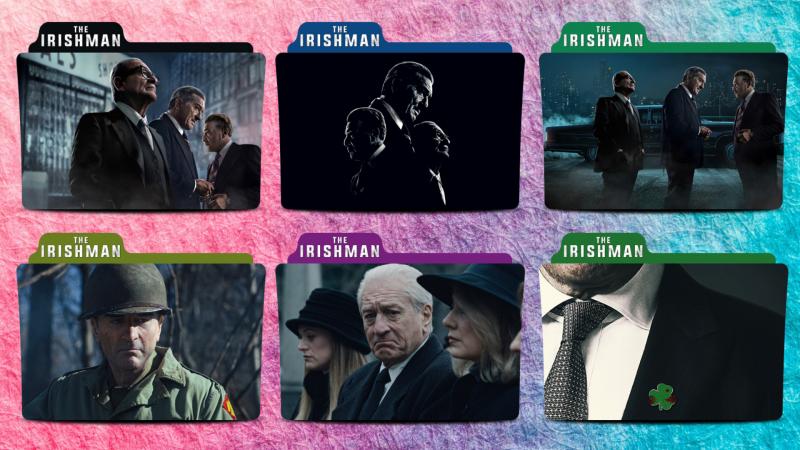 The Irishman Movie Folder Icon